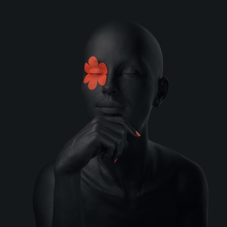Black pose - rendering, render, cinema4d - mattiafalo | ello