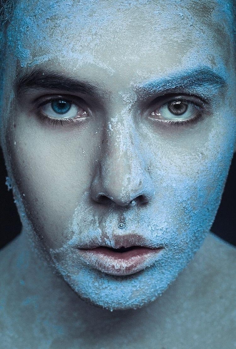 """Ice"" — Photographer/Model: Sal - darkbeautymag | ello"
