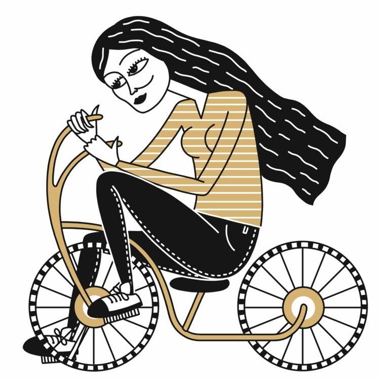 illustration, art, drawing, woman - alicecquaglia | ello