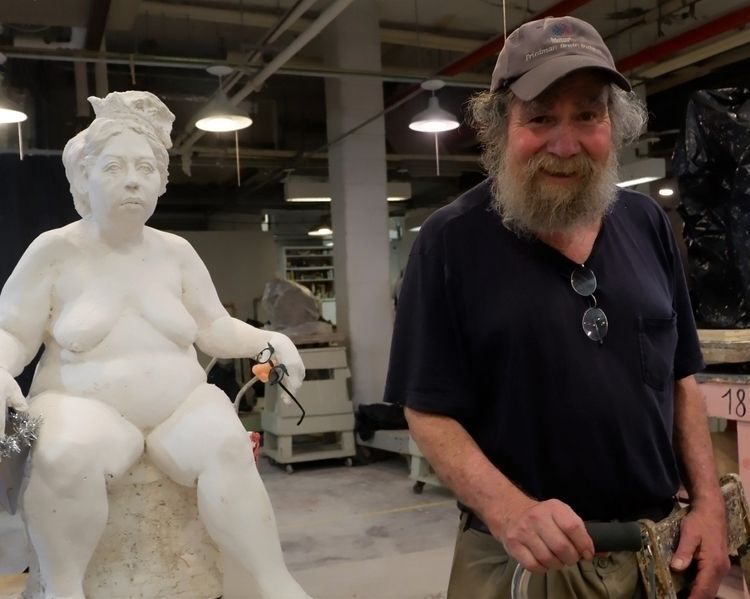 Sculpture teacher; Barney Hodes - bettybrooklyn | ello