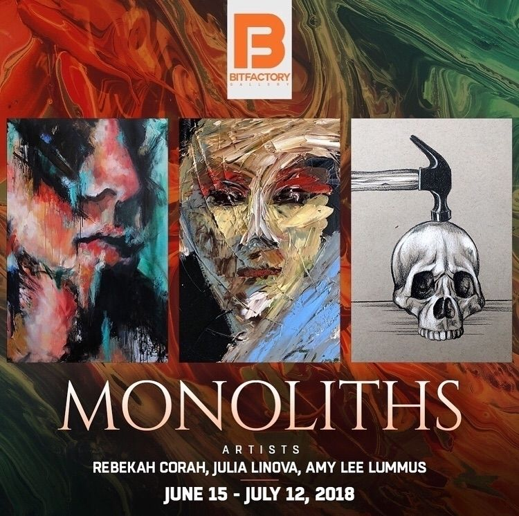 2 days catch Monoliths exhibiti - bitfactory | ello
