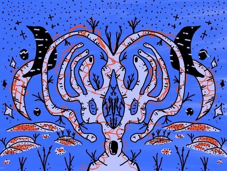 Zakki Valley Nightmare - doodle - dsmoore | ello