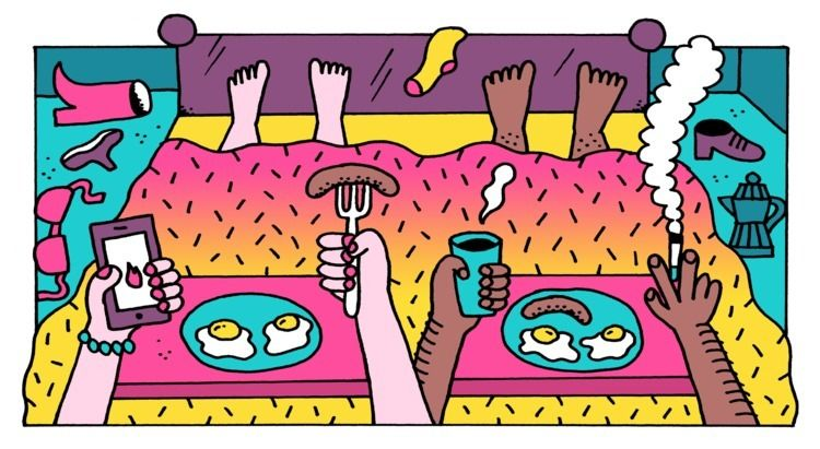 Editorial illustration article  - jangojim | ello