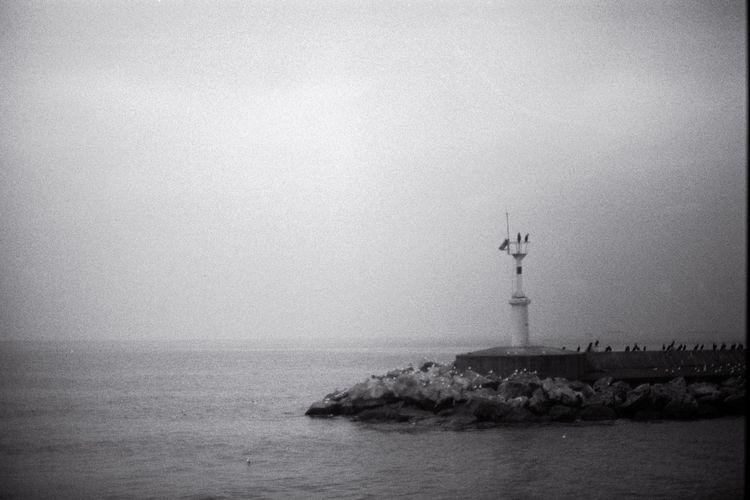 istanbul, blackandwhite, sea - littlefathertime | ello