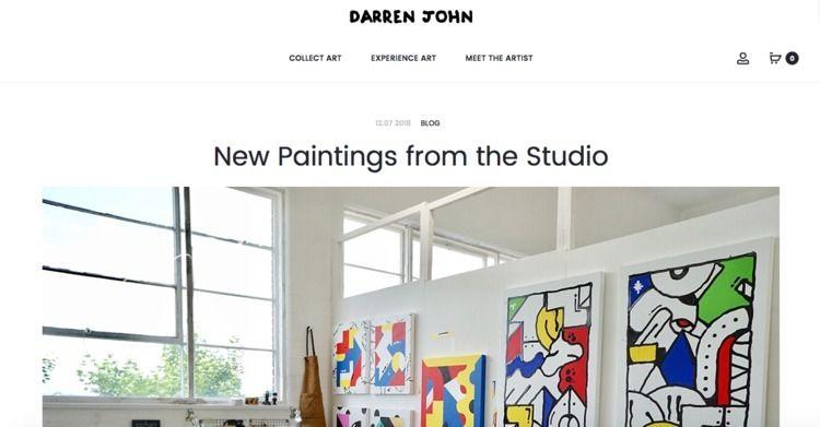 studio update fresh blog --&gt - darrenjohn | ello