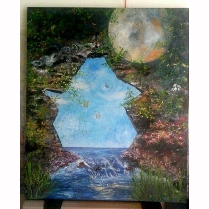 piece symbolism... Tides Mind  - dvrainville | ello