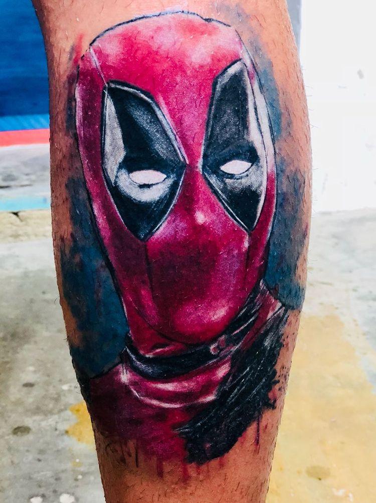 tattoo, deadpool - danversantoscruz | ello