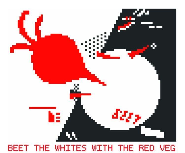 vegetarian 8-bit tribute constr - gastimo | ello