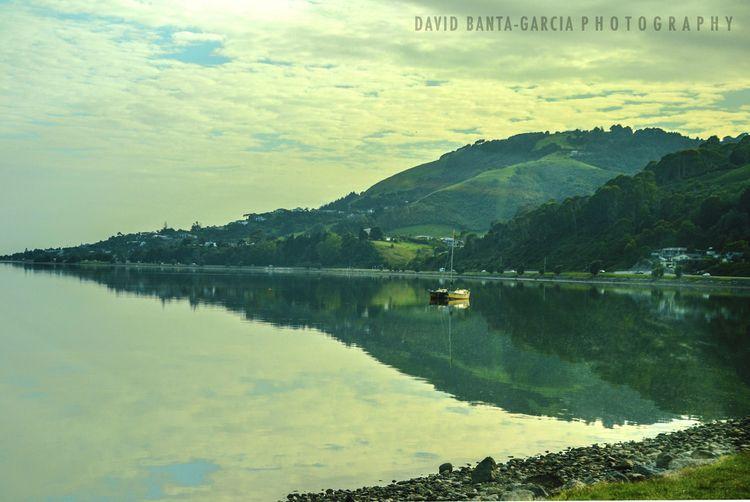 image - ocean, hill, coast, boats - dave19 | ello