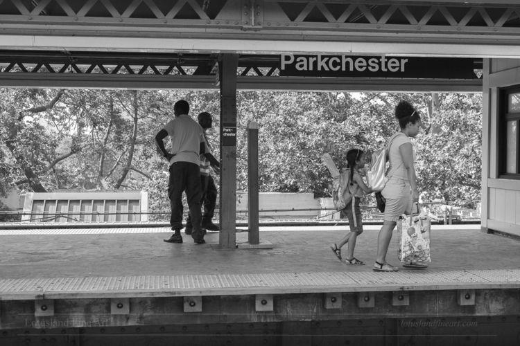 elevated subway platform Parkch - wlotus | ello