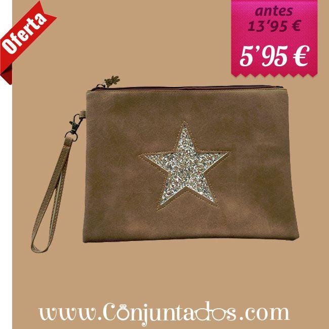 ¡super -> Bolso de mano Star - conjuntados_com | ello
