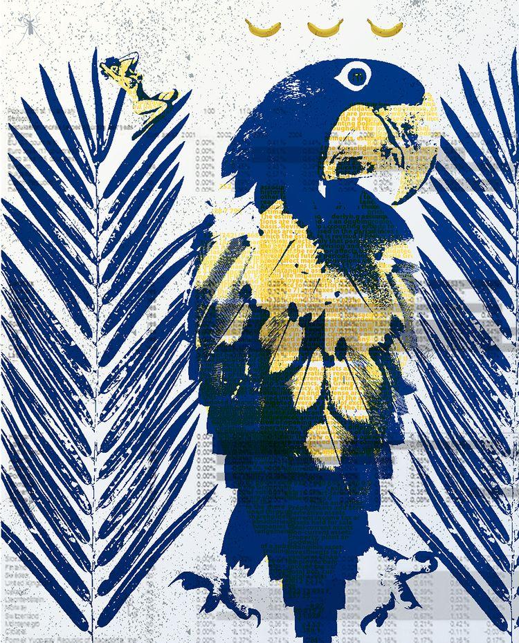 Bananas - art, graphic, collage - markograf | ello