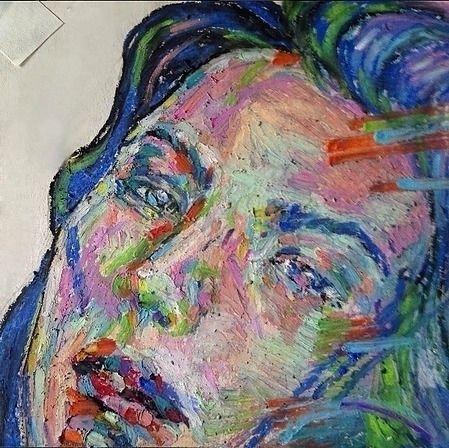 crayon, painting - likuanzhen   ello