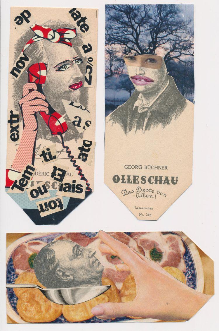 Amazing heads Rosa Ferreira! Ch - papiergedanken-collage-art | ello