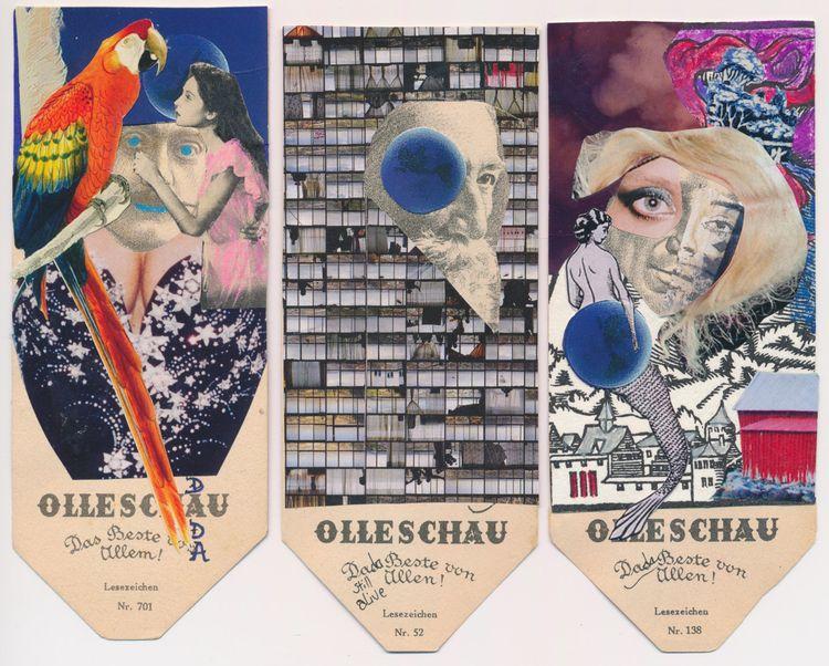 Wonderful heads Annie Krim! Che - papiergedanken-collage-art | ello