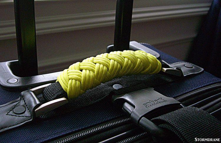 paracord luggage handle wraps z - stormdrane | ello