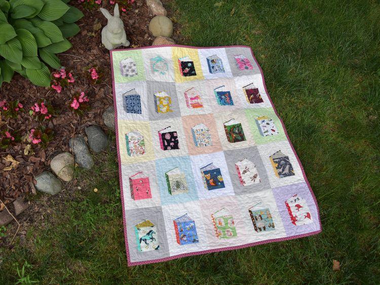 fun making quilt! Tall Tales bl - runsewfun | ello