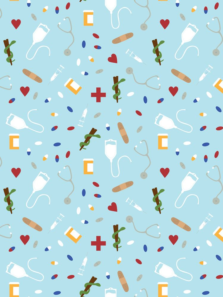 Pills medical themed pattern cr - svaeth | ello