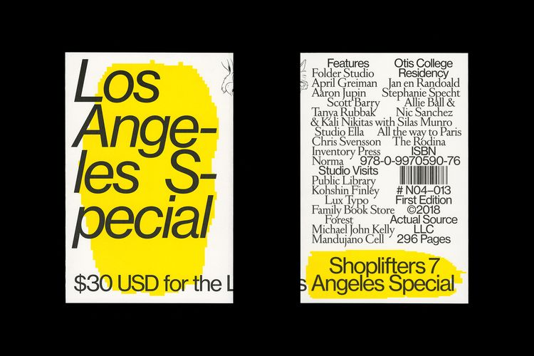 Book design Shoplifters Issue 7 - northeastco | ello