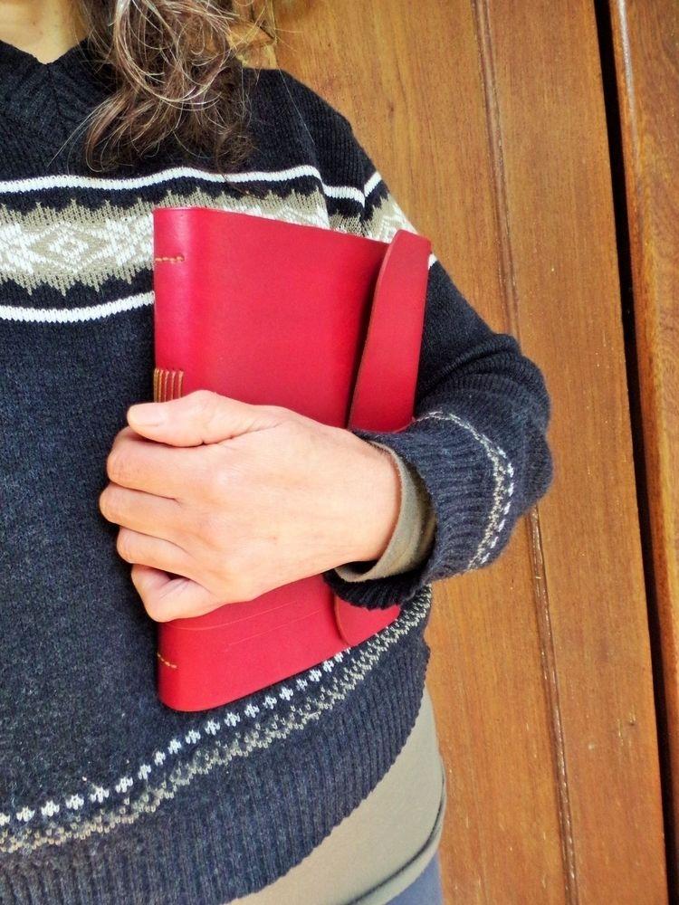 Cuaderno de cuero. A5. Leather  - mirtanruiz | ello