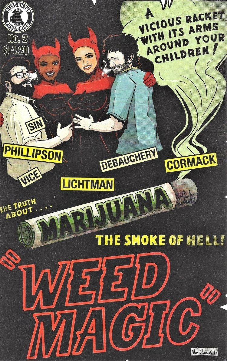 Scanned original Comic - cannabis - ellocannabis | ello