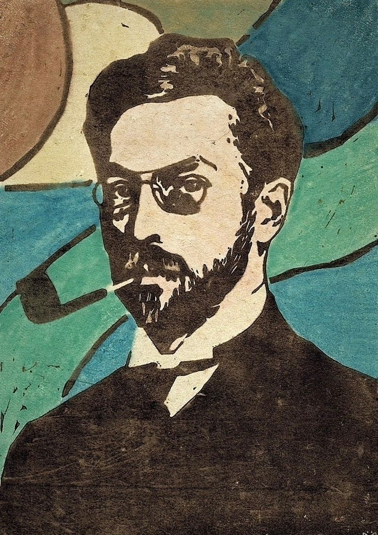 Gabriele Münter, Wassily 1906 - Portrait - bauhaus-movement | ello