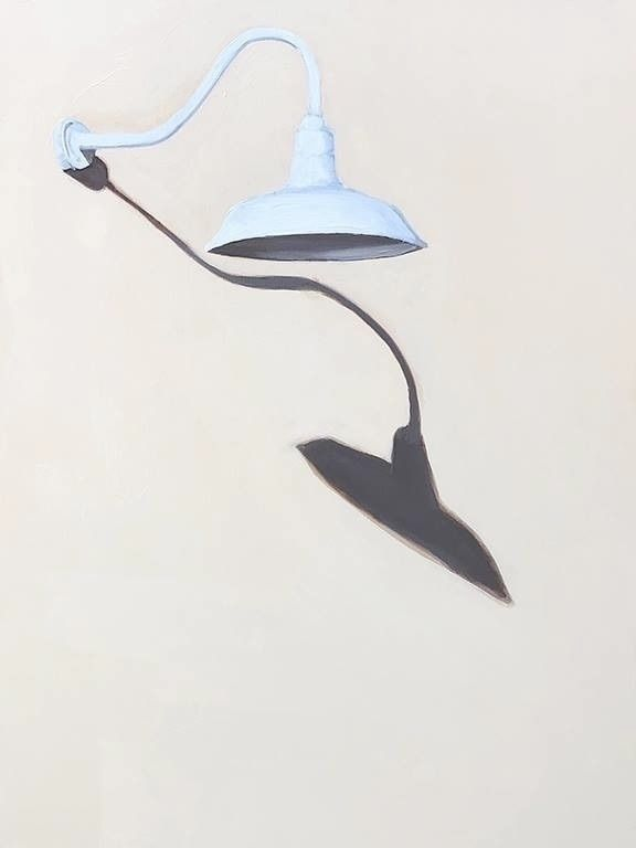 Barn Light Shadow 24 20 acrylic - jeffbessart | ello