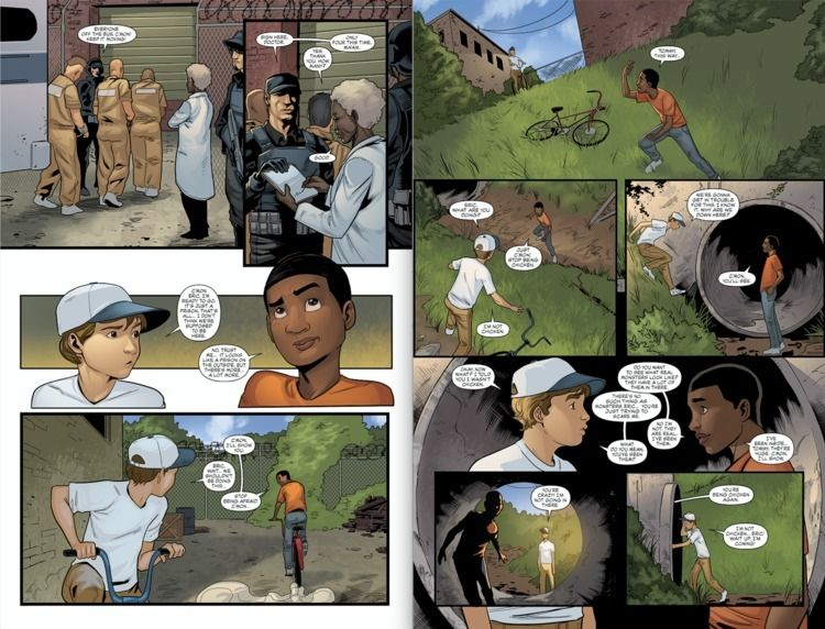 pages 25 scenes issue comic boo - kenneth69 | ello