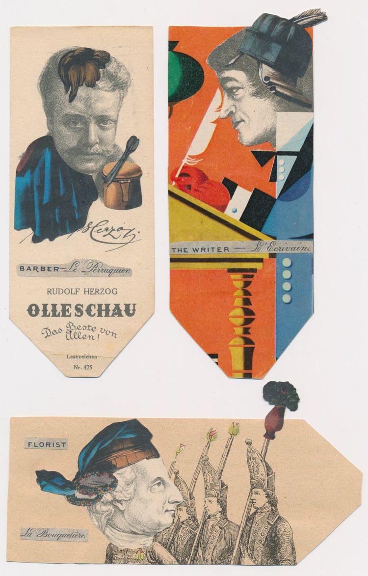 FInished heads! Catherine Harre - papiergedanken-collage-art | ello