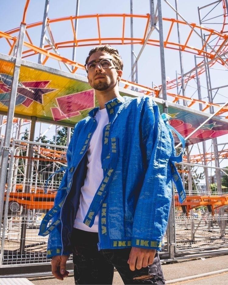 Custom bomber jacket IKEA bags - tonymarinescu | ello