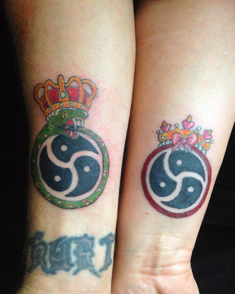 tattoos - CoupleTattoos, Couple - yankeedoodlezart   ello