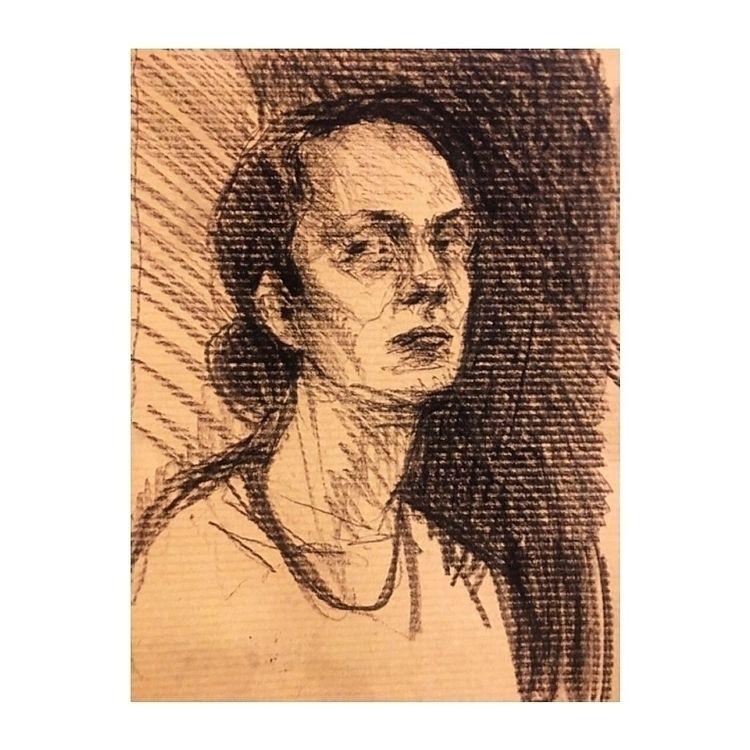 portrait, draw, sketch, sketchbook - yuliavirko   ello