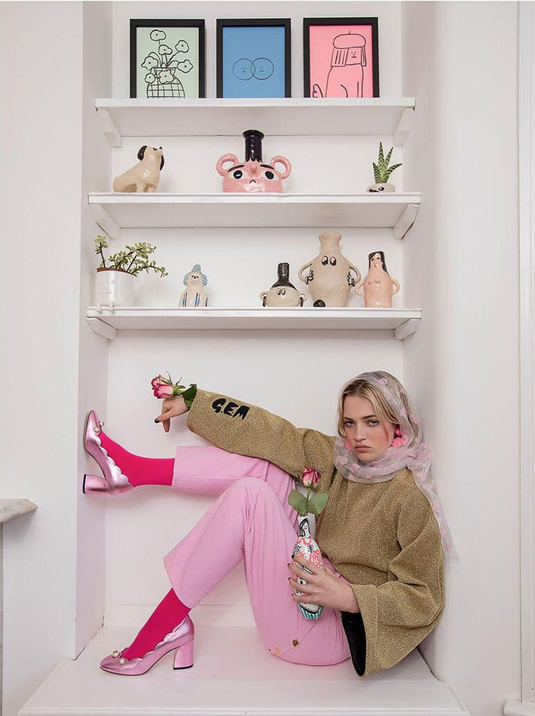Lazy Oaf Brings Feminine Style  - thecoolhour | ello