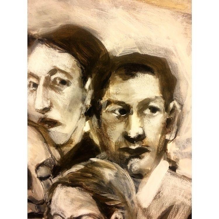 Detail painting - faces, portraits - yuliavirko | ello
