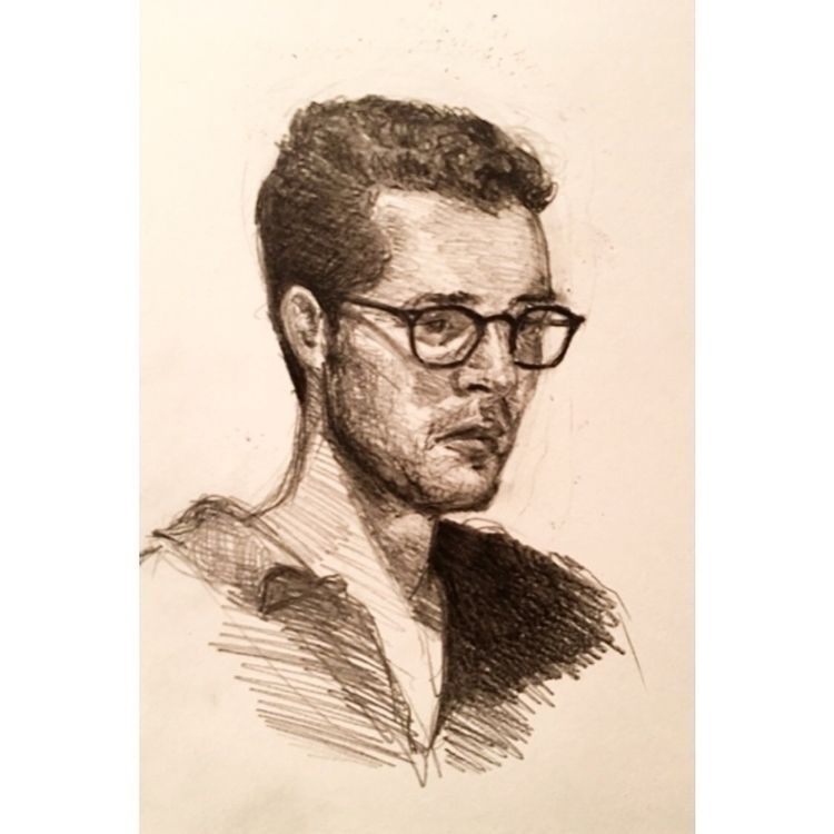 Portrait friend  - portrait, draw - yuliavirko | ello