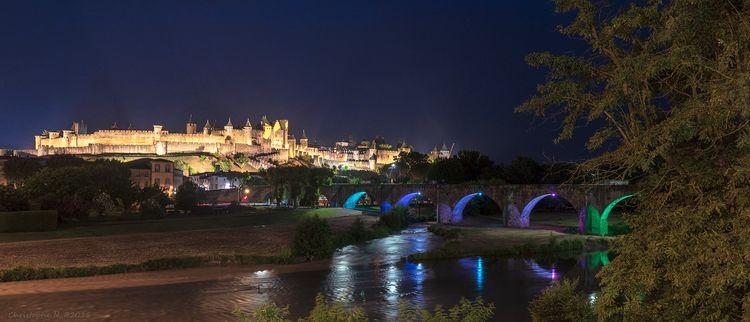 Carcassonne - France - landscape - christophen | ello