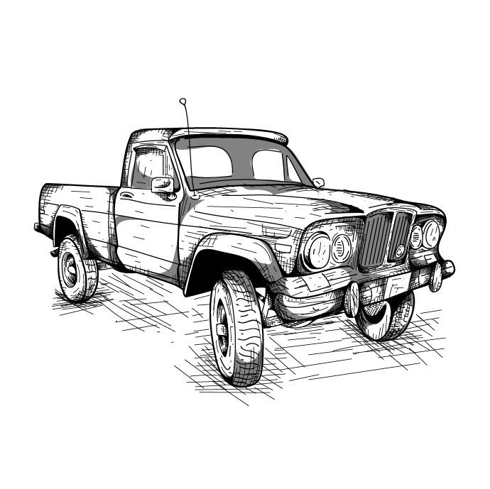 love era Jeep Pickups <3 J10 - quikel | ello