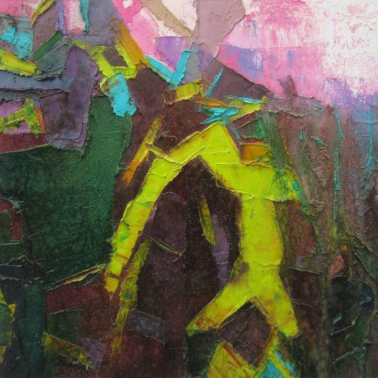 Sacred Nature II oil canvas | 1 - abhishekkumarartist | ello