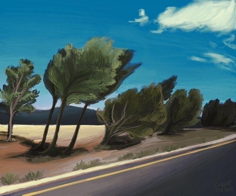 Road Las Vegas, NM Pt. 1, July  - chloehalbert | ello
