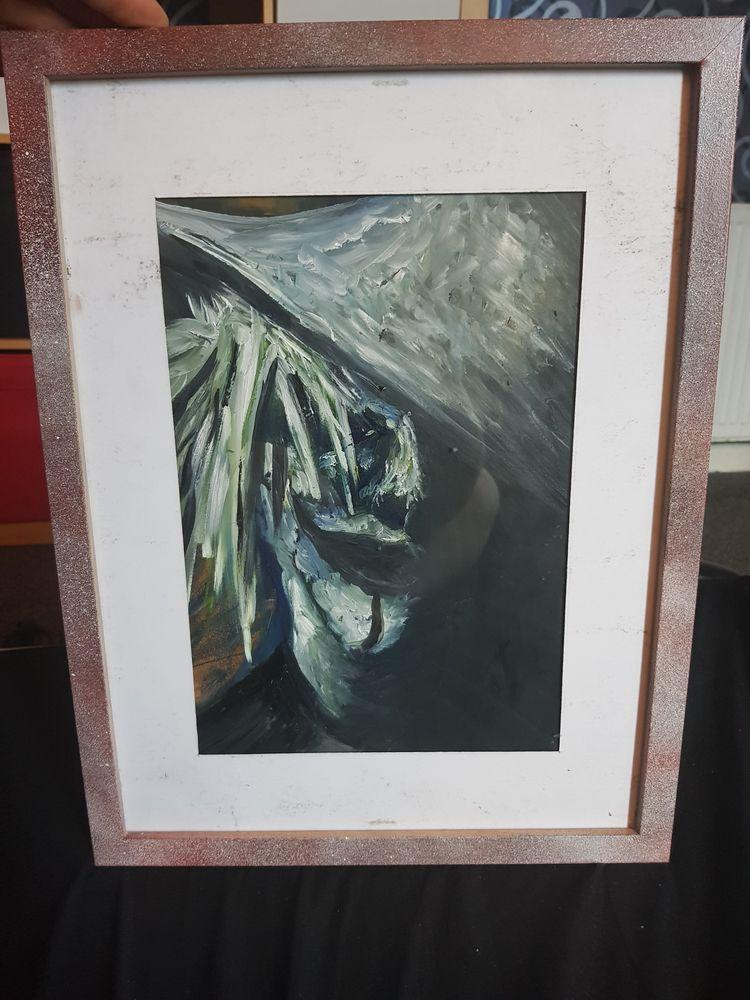 Weird style painting John 5 sal - grantnicholl | ello