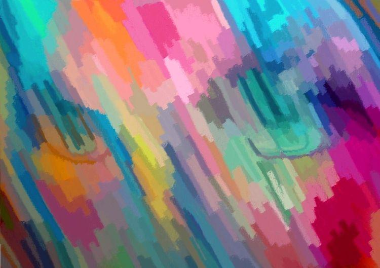 Abstract 710 - art, digitalart, paint - rjayslais | ello