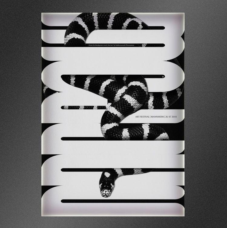 NARROW - posterdesign, graphicdesign - nakhon | ello