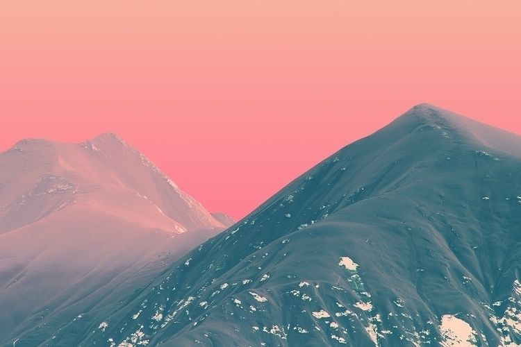 EARTH - MOUNTAINS, SKY, ROCK, STONE - thisset | ello