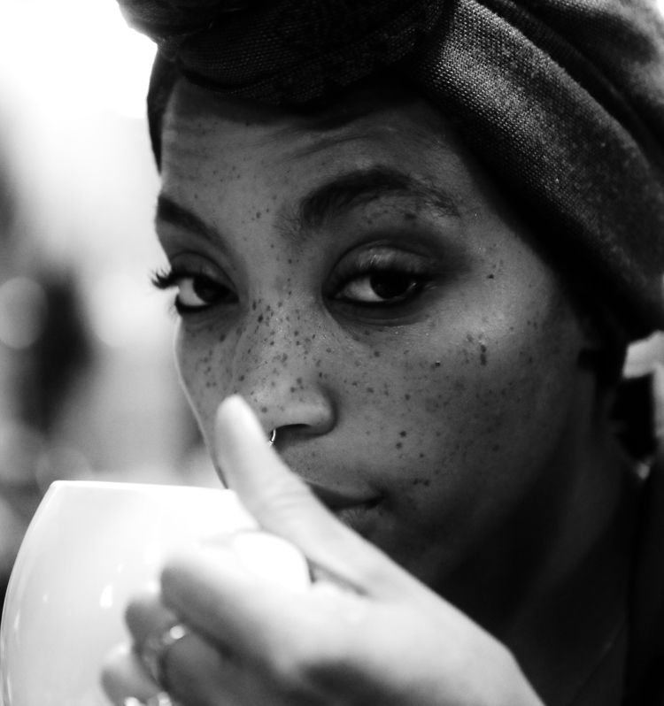Margeaux Sips Tea - chillyolovesyou | ello