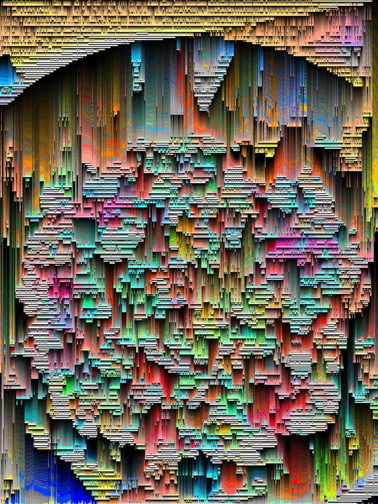 Heavily glitched image - guydmann | ello