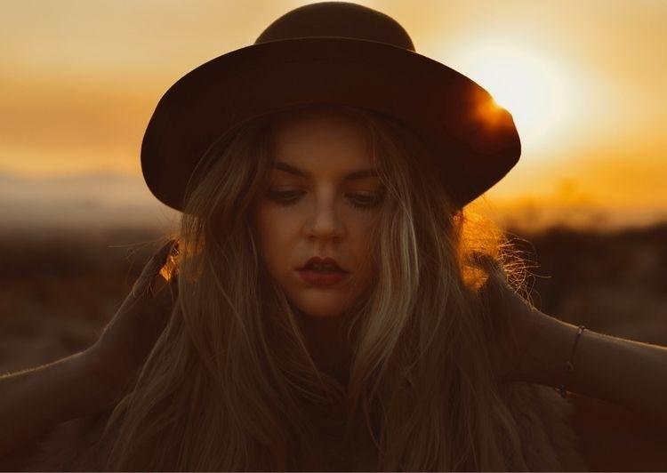 favorite cowgirl - desert, portrait - seemythirdeye | ello