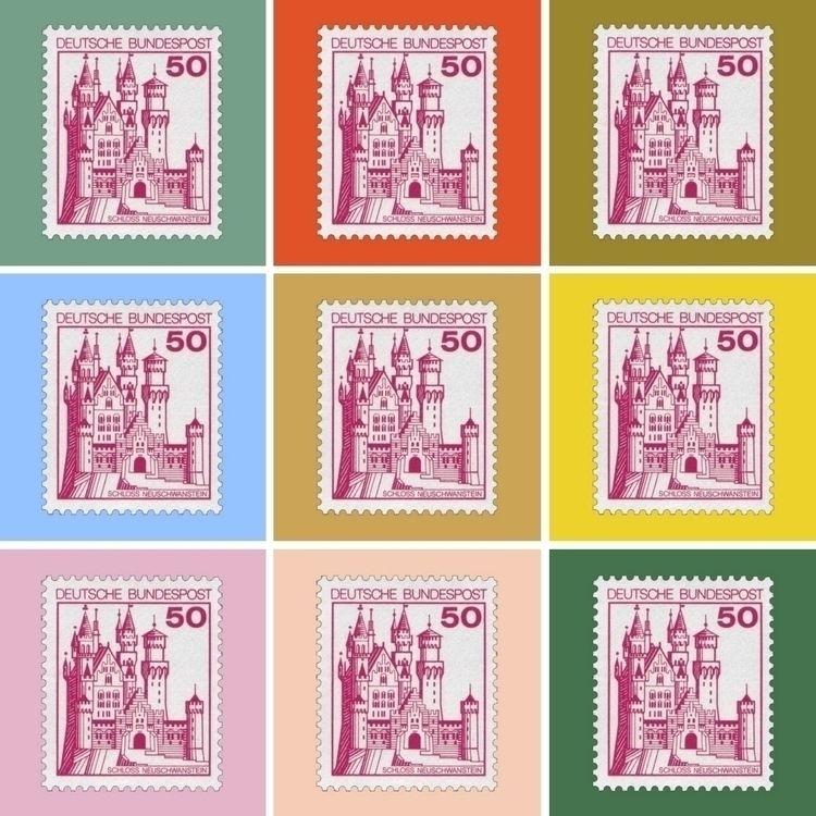 Neuschwanstein dream castle - graphicdesign - 111archeravenue   ello
