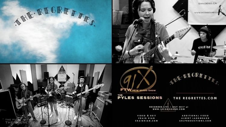 Regrettes Pyles Sessions! Track - crvideo_crv   ello