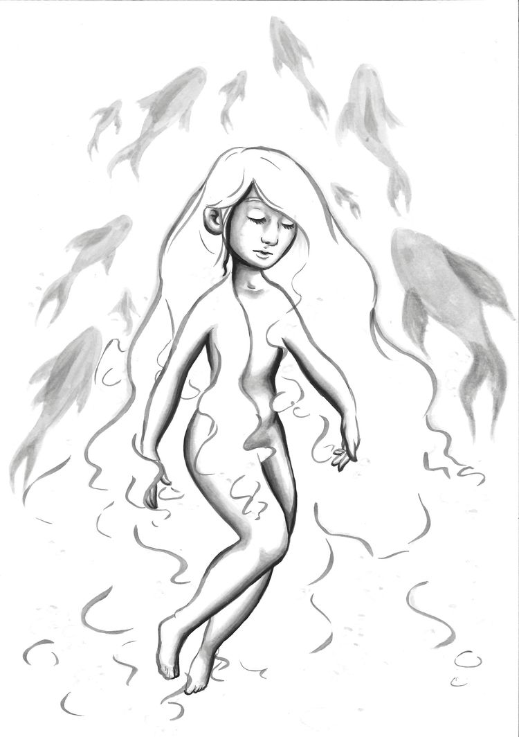 Grim fairytale story mermaid. l - ericabiscuit | ello