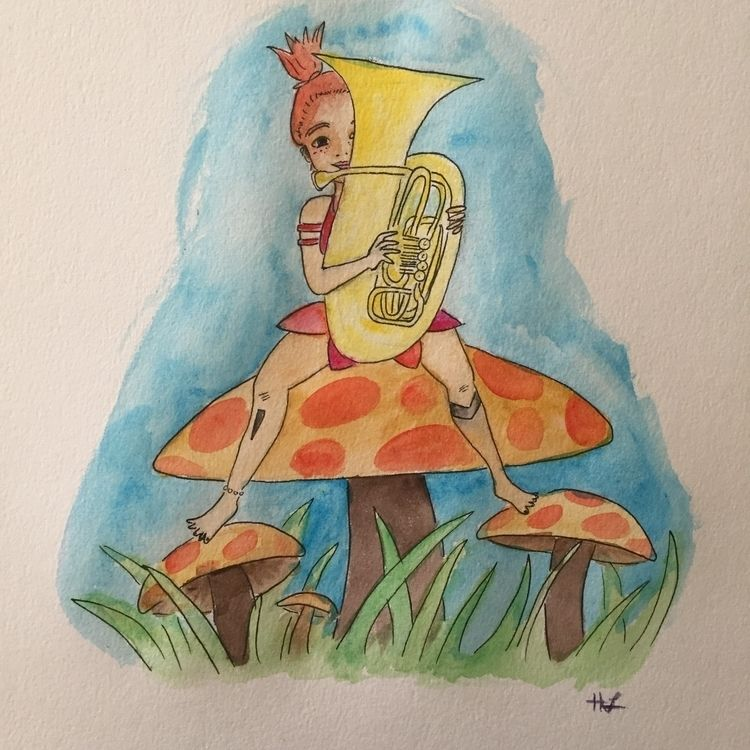 Tubalina - music, tuba, fantasy - hannah_piranha | ello